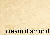 cream diamond